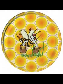 (102695) Крышка винтовая d-66мм Пчелка