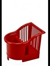 (097692) 167093 Подставка для столовых приборов 17*13*14 Красный