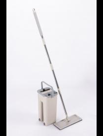 Комплект для уборки: швабра и ведро для отжима Rosenberg R-800053