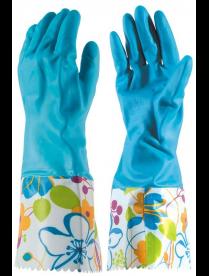 092437 Перчатки латексные с манжетами LG-Cu, р-р М