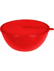 GR1868СТ Салатник Bono 5 л с крышкой сочный томат GR1868СТ