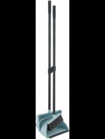 """Набор """"Ориджинал"""" щетка для пола с совком небесный SV3135НБС"""