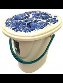 (102863) ING4002ГЖ Ведро-туалет Smart Solution 20л Гжель