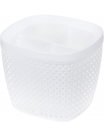 (103641) М1168 Сушилка для столовых приборов ПИРУЛА Белый (20)
