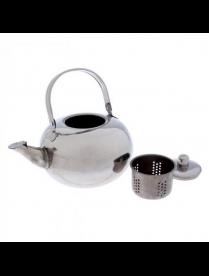 Чайник 1,2л заварник с ситечком под/упак AST-002-ЧС-12