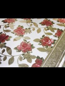 (103530) 8896ES Клеенка ПВХ Версаль на ткан. осн. 137см*20м