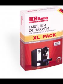 Filtero Таблетки от накипи для кофемаш, XL 10 шт.