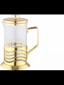 (097108) Френч пресс из нержавеющей стали золотого цвета, 350мл, В526G-350