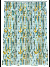 """461-508 VETTA Шторка для ванной, полиэстер, 180x180см, """"Морская"""", 4 дизайна"""