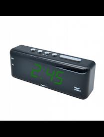 VST762T-2 часы 220В зелёные цифры