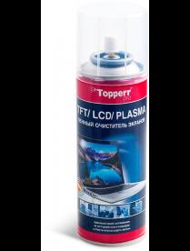 Topperr 3040 Очиститель для TFT/LCD/PLASMA, спрей-активная пена, 200 мл, Испания