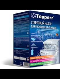 Topperr 3304 Стартовый набор для ПМ машин (соль+ополаскиватель+таблетки)