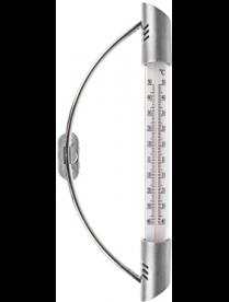 473-010 INBLOOM Термометр оконный с креплением 9,5х23см, блистер