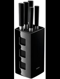 Набор из 5 кухонных ножей с универсальным керамическим блоком, NADOBA, KEIKO 722920