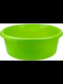 Таз 11,0л круглый ярко-зеленый М2513