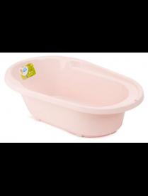 """(101845) LA4108RS Ванночка детская """"COOL"""" со сливом розовый"""