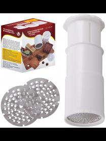 (105015) Тёрка кондитерская для шоколада и сыра. d8см, h9см МТ80-285