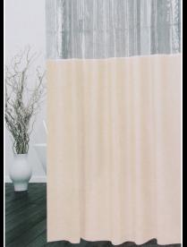 """461-512 VETTA Шторка для ванной, ПЕВА, 180x180см, """"Однотонная"""""""