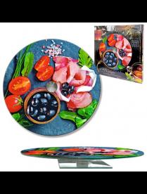 Блюдо круглое вращающееся d 280 мм, (105-1308)
