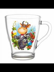 (104540) 2018-Д Кружка для чая 250мл. (Символ года)