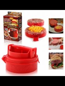 (103115) 4072 Форма для приготовления бургеров STUFZ. Идеальная форма котлеты для бургера - просто к